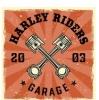 Harley riders garage